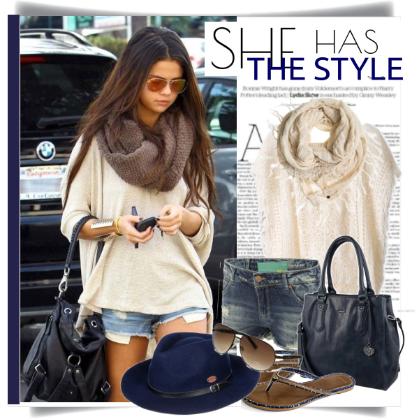 She has the style