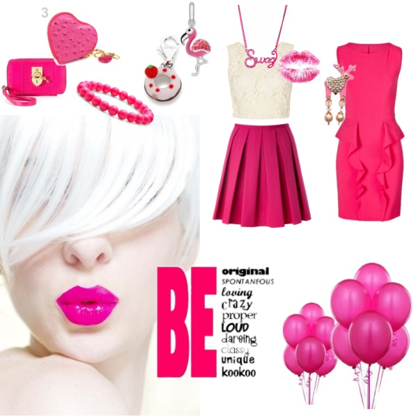 Crazy pink style :-D