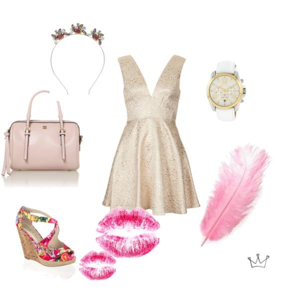 Romantický outfit