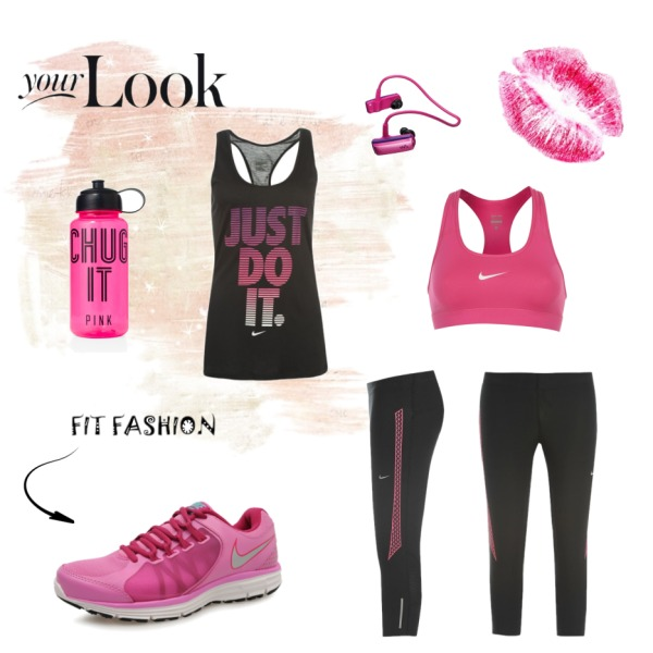 Just do it with pink!