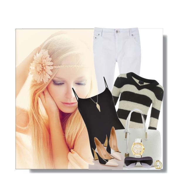 Jak být stylová v bílých džínách.