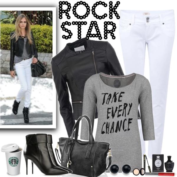 Být stylová v bílých džínách