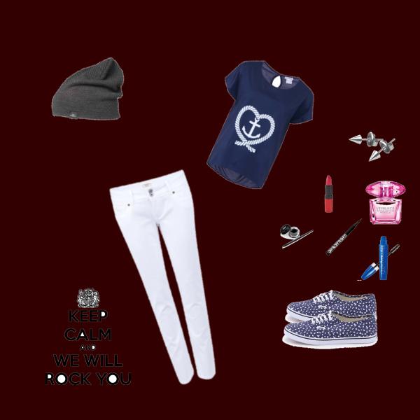 Jak být stylová v bílých džínách
