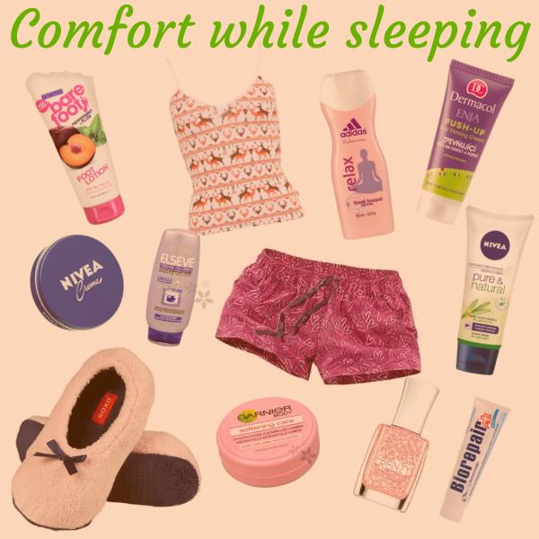 Comfort while sleeping