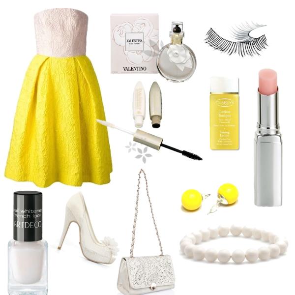 Žluto-bílý svět