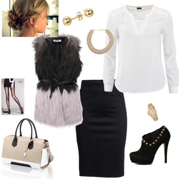 elegance s černou