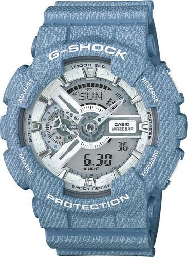 851508346e Casio G-Shock Original GA-110DC-2A7ER Denim Series - Glami.cz