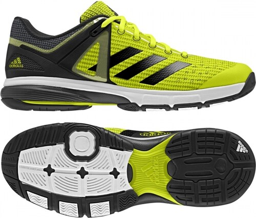 27161f3bd25 Sálové boty adidas Performance Court Stabil 13 (Žlutá   Černá   Šedá ...