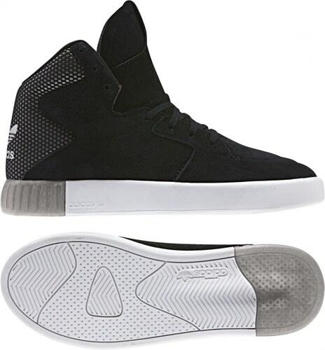 93fd3f7bf2a Kotníkové boty adidas Originals TUBULAR INVADER 2.0 W (Černá   Stříbrná)