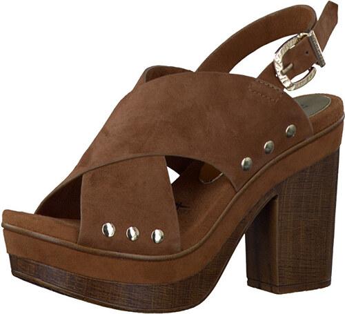 b7f7df02c378 Tamaris Elegantné dámske sandále 1-1-28389-38 Cognac - Glami.sk
