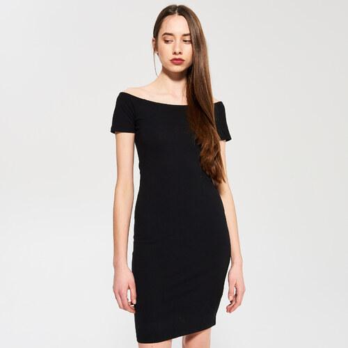 Sinsay - Džersejové šaty - Čierna - Glami.sk 49874c07a44