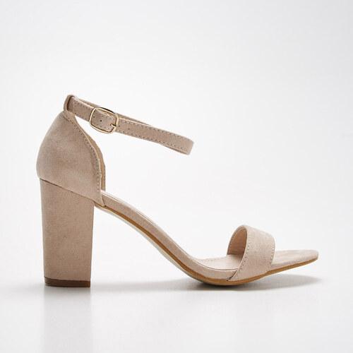 119bf23de708 Sinsay - Sandále na širokom opätku - Ružová - Glami.sk