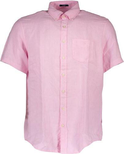 Pánská košile Gant - S   Růžová - Glami.cz c9d1c1fd23
