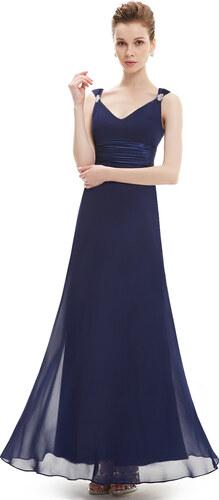 b8fad309a925 Ever Pretty plesové šaty tmavě modré 9601 - Glami.cz