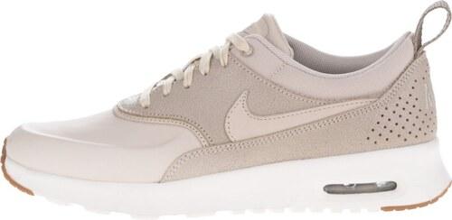 Béžové dámské kožené tenisky Nike Air Max Thea Premium - Glami.cz 3dd7b351248