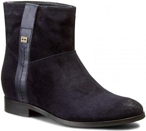 Tommy Hilfiger dámské černé kožené boty Charlie - Glami.sk 1b860ce04cf