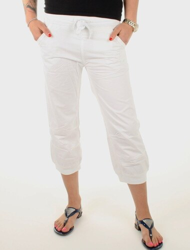 Pepe Jeans dámské bílé 7 8 kalhoty Malibus - Glami.cz 0527b2f2f2