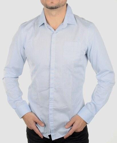 Guess by Marciano pánská světle modrá košile - Glami.cz 30b639684e