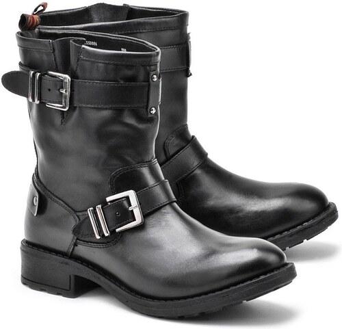 Pepe Jeans dámské černé kotníkové boty Pimlico - Glami.cz 0b11a8ec4e