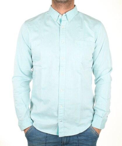 c1c05eb86d5 Tommy Hilfiger pánská modrá košile Two Tone - Glami.cz