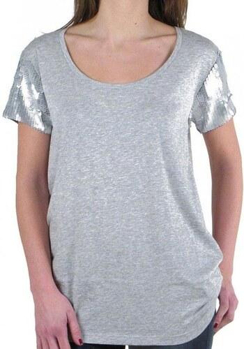 3129fca493 Guess dámské šedé tričko - Glami.sk