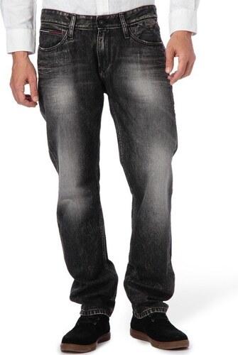 Tommy Hilfiger pánské černé džíny Scanton - Glami.cz d5ac79e11c
