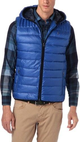 Tommy Hilfiger pánská modrá vesta LW Allen - Glami.sk f9e0146bf91