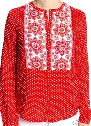 a041cf32fea Pepe Jeans dámská červená košile Devon - Glami.cz