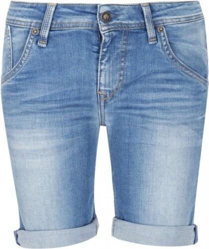 Pepe Jeans dámské modré džínové šortky Sierra - Glami.cz 0e16b56918