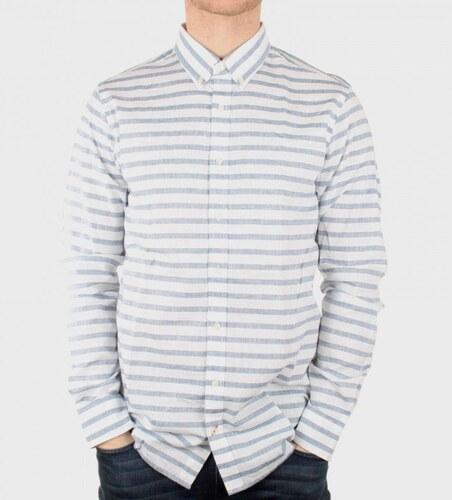 Tommy Hilfiger pánská bílá pruhovaná košile Tassle - Glami.cz 4d064f65ec
