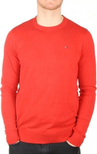 Tommy Hilfiger pánský červený svetr Tommy - Glami.cz 3be52fc33da
