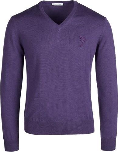 Versace Collection Pánsky vlnený sveter 378.46138-violet - Glami.sk 7d8991e9818