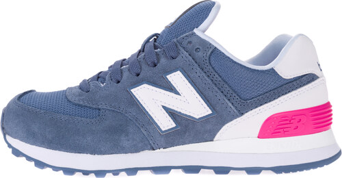 New Balance 574 Tenisky Modrá Růžová Bílá - Glami.cz c1d04b61db