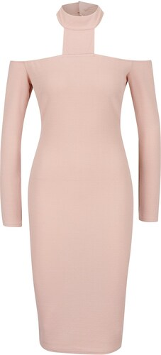 6fb913127fed Růžové šaty s chokerem AX Paris - Glami.cz
