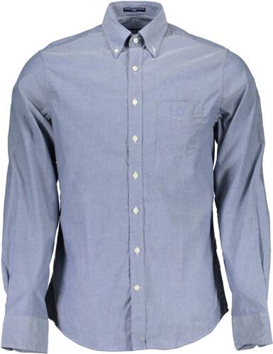 56bf7998d51a Pánska košeľa Gant - Modrá   S - Glami.sk