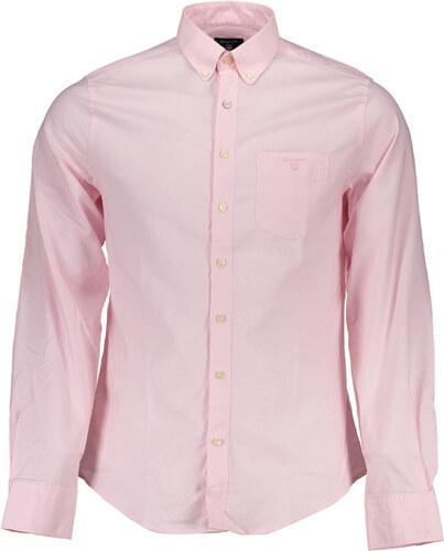 Pánská košile Gant - XL   Růžová - Glami.cz 23a8c3fdbe