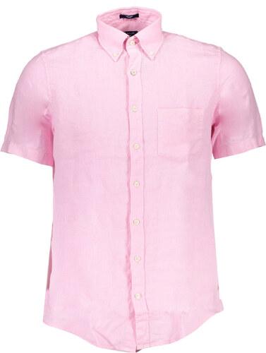 Pánská košile Gant - Růžová   S - Glami.cz 2d10890186