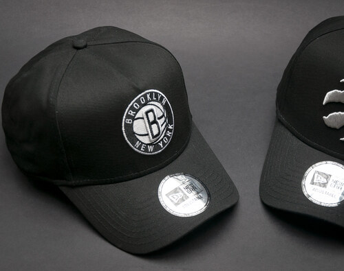 Kšiltovka New Era Team A Frame Brooklyn Nets Black Snapback - Glami.cz ed37e4c317