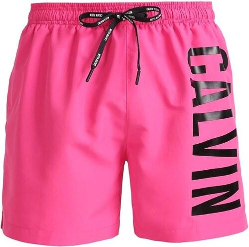Pánské plavky CALVIN KLEIN Medium Drawstring Pink - L - Glami.cz 7acb00e16a