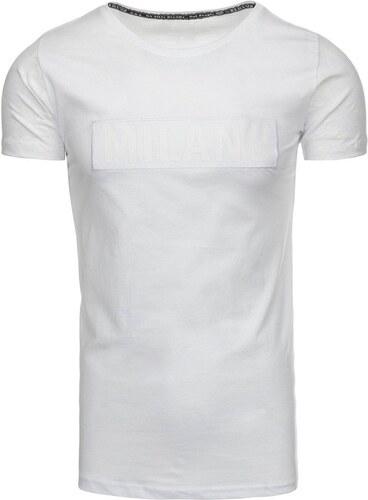 d170cbf0d53a Pánske biele tričko s potlačou - Glami.sk