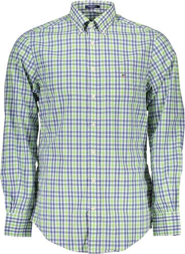 Pánská košile Gant - Zelená   S - Glami.cz 09db50f804