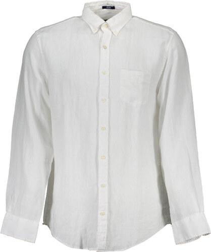 Pánská košile Gant - L   Bílá - Glami.cz 9931edcabe