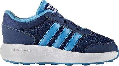 adidas Detské tenisky Cloudfoam Race Inf - tmavo modré - Glami.sk 573de17f81f