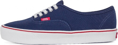 Sneakers - tenisky Vans Authentic Lite (Speckle) Dress Blues   White ... 532e7b81f
