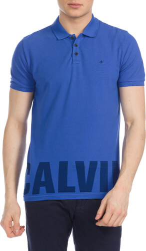Férfi Calvin Klein Pronto Teniszpóló Kék - Glami.hu a97cc75761