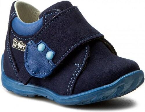 b30c3c82b9c8 Ren But Chlapčenské celokožené členkové topánky - modré - Glami.sk