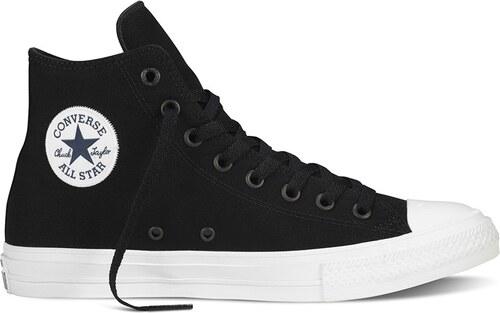 Pánské kotníkové boty Converse Chuck Taylor All Star II černé Black White  Navy 1d68c88d86f