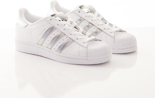 Adidas Originals Boty Superstar White Silver bílá - Glami.cz 83406d7748