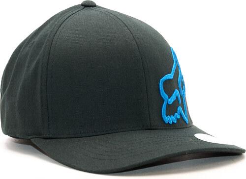 Kšiltovka FOX Flex 45 Flexfit Hat Black Blue - Glami.cz d7c2c00976