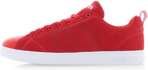 adidas CORE Pánské červené tenisky ADIDAS VS Advantage Clean - Glami.cz 5723ddf185
